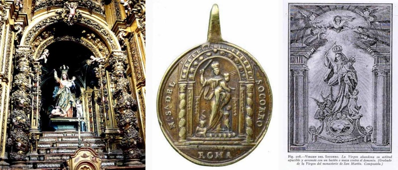 Santa Escolástica / Nuestra Señora del Socorro - MR490 (R.M. SXVIII-O306) Capill10