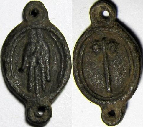 Elemento di rosario Llagas10