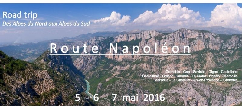 CROSSFIRE TOUR 2016 : Route Napoléon - 5/6/7 mai 2016 Captur11