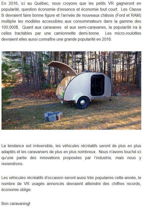 2016, mini-roulottes, la tendance sera à la hausse !!! Car-go10