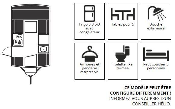 Mini-roulotte Hélio (produit du Québec)  Catara19