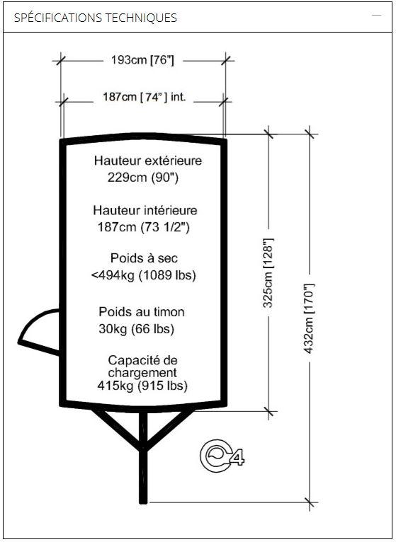 Mini-roulotte Hélio (produit du Québec)  Spyyci13