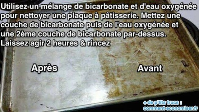 Nettoyer avec le bicarbonate! 12301710