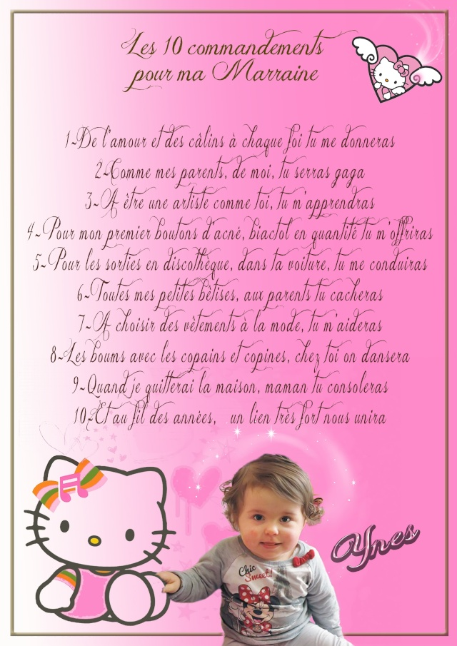 hello kitty bapteme Marrai10