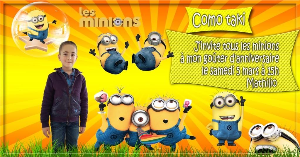anniversaire minions  Minion11