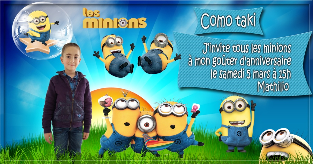anniversaire minions  Minion12