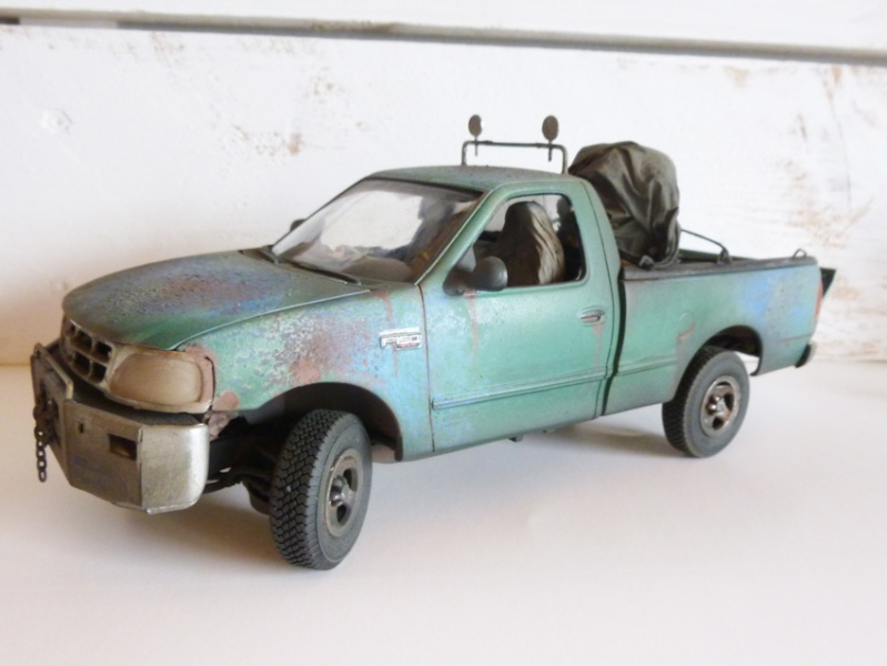 """amt Ford F150 `97 Styleside """"Moonshiner"""" 1/25 0110"""