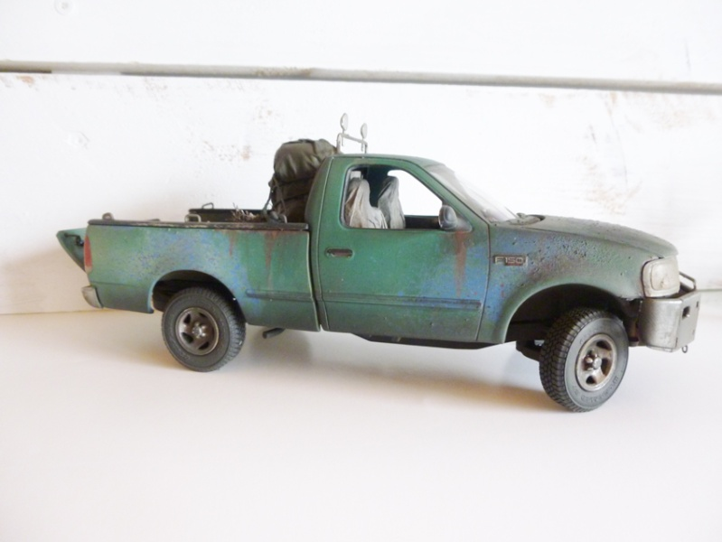 """amt Ford F150 `97 Styleside """"Moonshiner"""" 1/25 0510"""