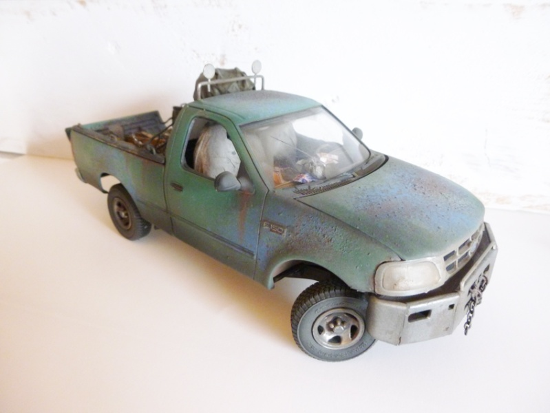 """amt Ford F150 `97 Styleside """"Moonshiner"""" 1/25 0610"""
