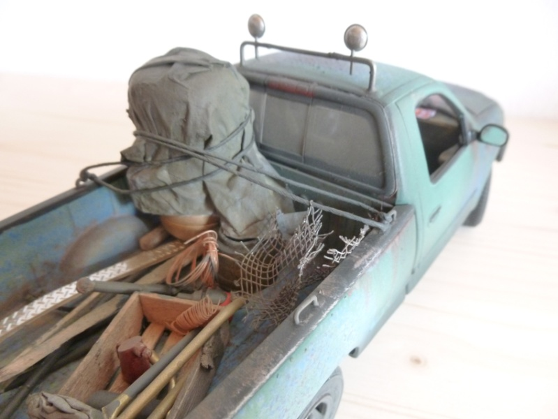 """amt Ford F150 `97 Styleside """"Moonshiner"""" 1/25 1710"""