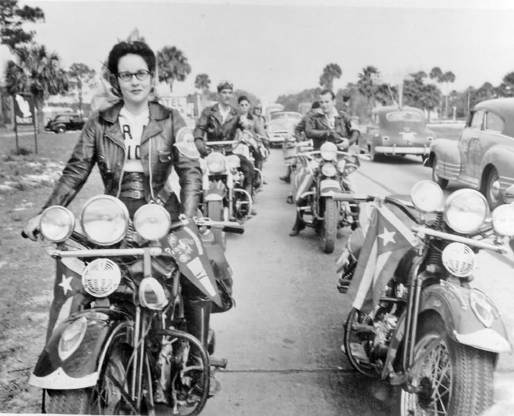 Vieilles photos (pour ceux qui aiment les anciennes photos de bikers ou autre......) - Page 10 Dayton11