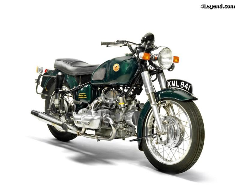 Une moto porsche Moto-s10