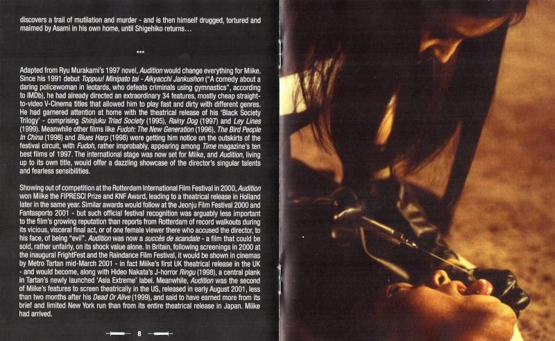 Ôdishon / Audition (1999, Takashi Miike) - Page 4 Img01111