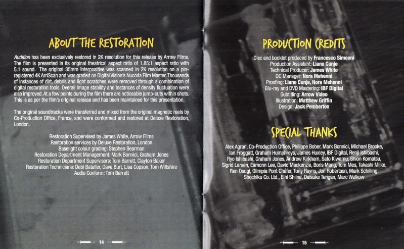 Ôdishon / Audition (1999, Takashi Miike) - Page 4 Img01211