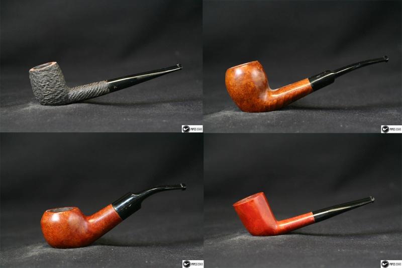 Kit débutant  4 pipes + chenillettes + cure-pipe tchèque Lot110