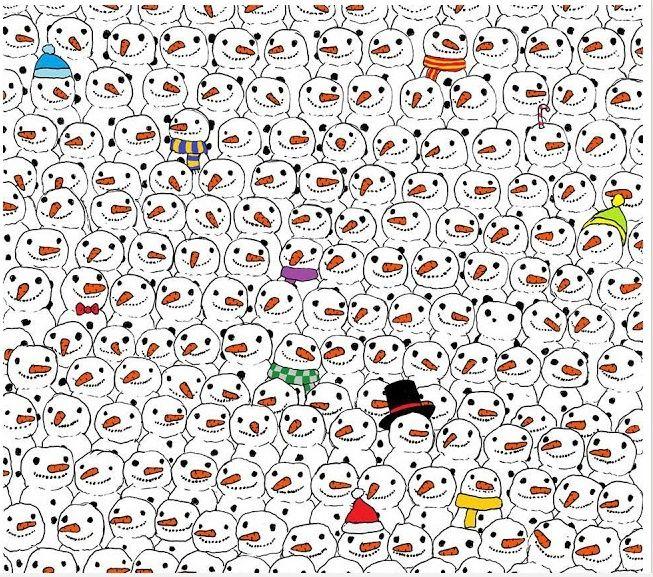 لقوي الملاحظة : هل يمكنك إيجاد الباندا خلال أقل من دقيقة ؟ Screen10