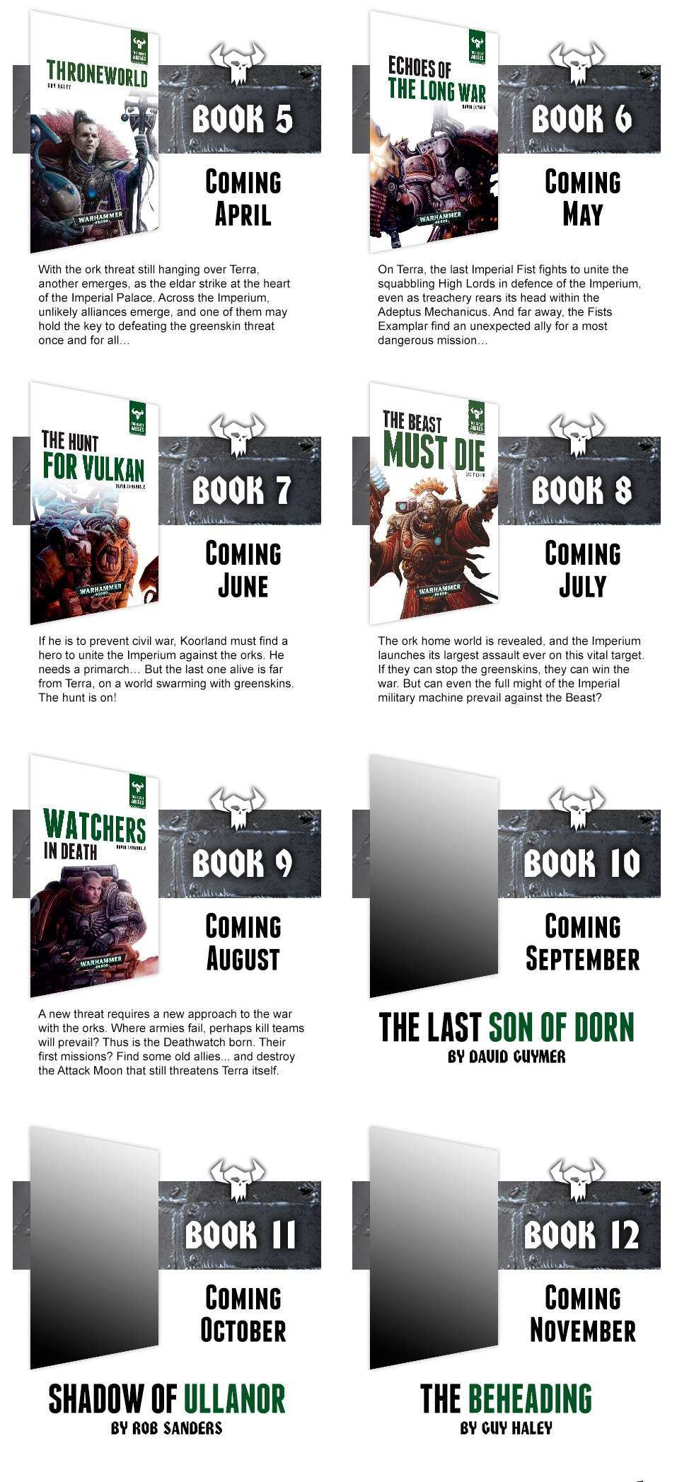 Programme des publications The Black Library 2016 - UK - Page 4 22210