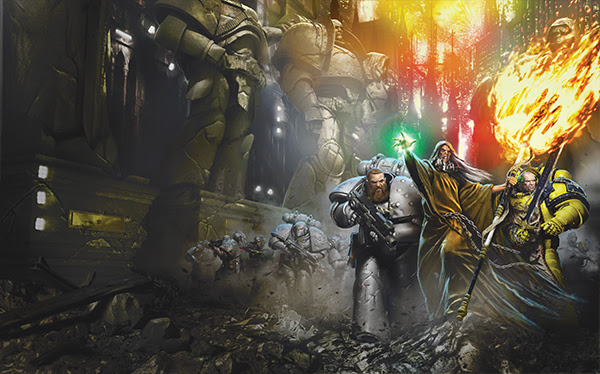 [Horus Heresy] The Silent War - Anthologie Unname10