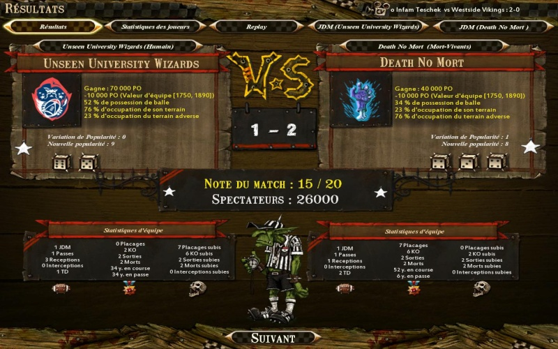 [Le Lapin Troll] Unseen University Wizards 1 - 2 Death No Mort [Elenalcar] Bloodb16