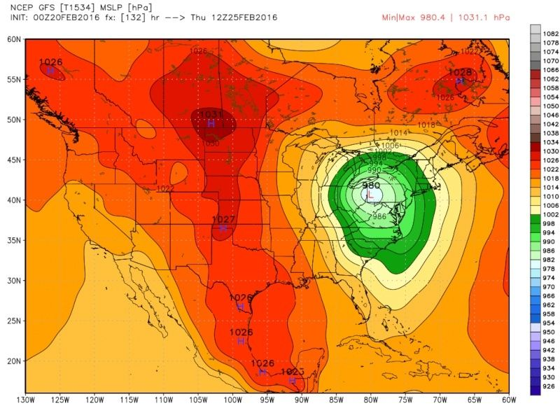 FEB 23rd-25th system (Wave 1 and 2) Gfs_0010