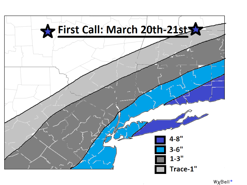 SNOW MAP! March_11