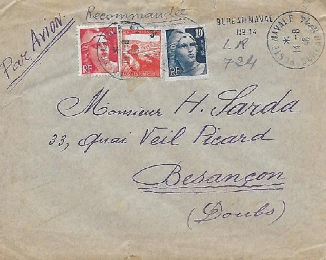 N°14 - Bureau Naval de Haïphong 141010