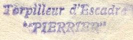 * PIERRIER (1910/1921) * 151010