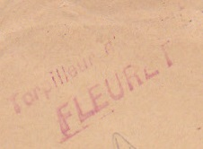 * FLEURET (1908/1920) * 161010