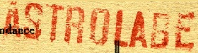 * ASTROLABE (1919/1944) * 290810