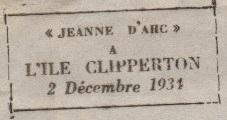 * JEANNE D'ARC (1931/1964) * 341210