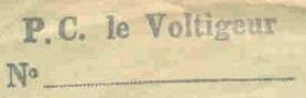 * VOLTIGEUR (1944/1970) * 460412