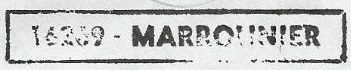 * MARRONNIER (1968/1999) * 8205_c10
