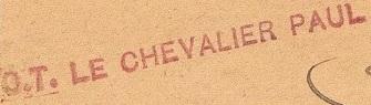 * LE CHEVALIER PAUL (1934/1941) * 842_0011