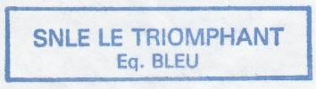 * LE TRIOMPHANT (1997/....) * 920510