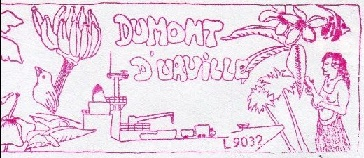 * DUMONT D'URVILLE (1983/2017) * 960410