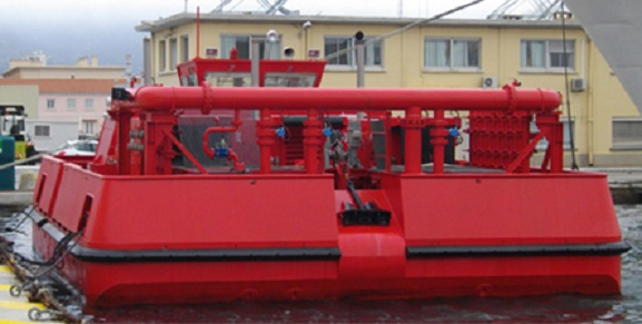 * MARINS-POMPIERS DE TOULON * Barge-10