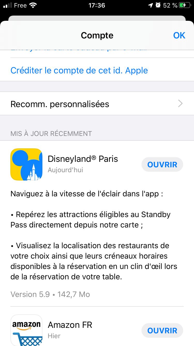 Application Disneyland Paris officielle sur iPhone, Android et iPad - Page 26 5ba8af10