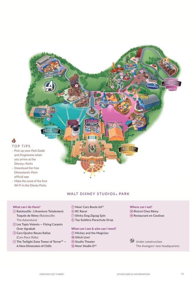 Le Plan des 2 Parcs Disney - Page 23 Bdad9c10