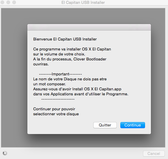 El Capitan USB Installer (Nouveau) 0010