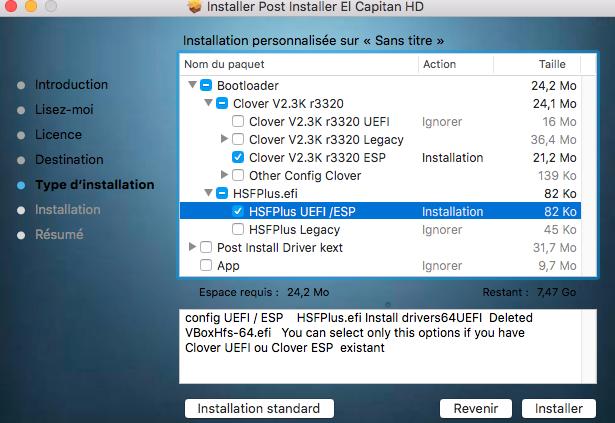 Installation El Captain sur HP Probook 4530s (problème) 127