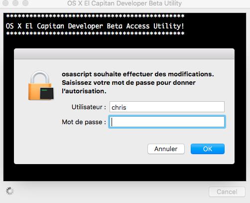 OS X El Capitan Developer Beta Utility.app Ppp10