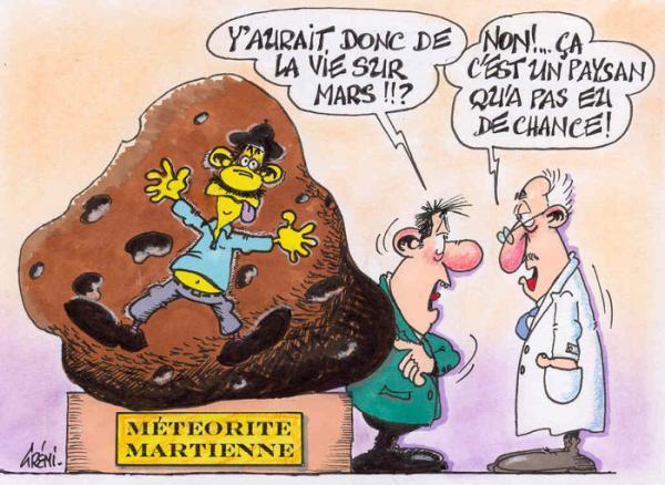 Humour et météorites Meteor10