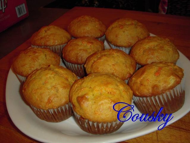 Muffins aux Carottes Muffin12