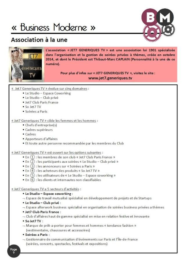 BUSINESS MODERNE - E-mag n° 2 E-mag_21