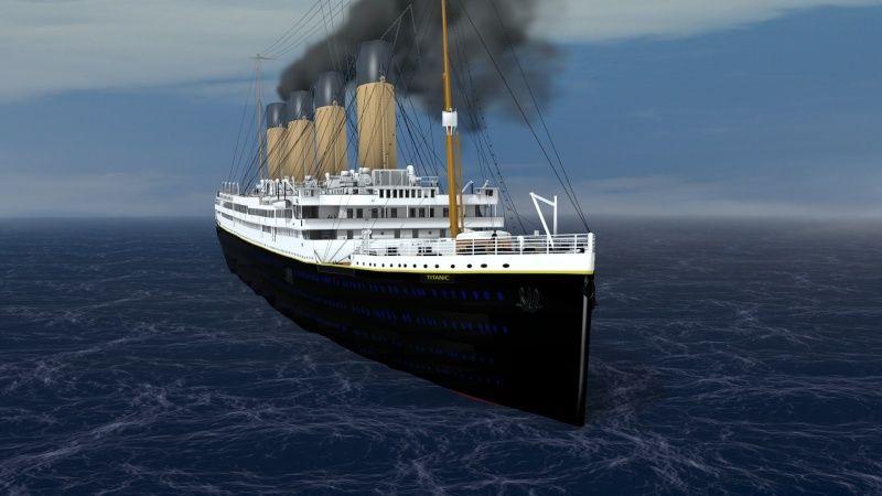 Titanic sous Blender - 21PhilC1 - Page 5 Voyage10