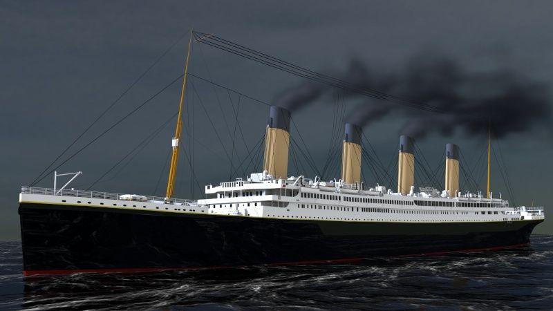 Titanic sous Blender - 21PhilC1 - Page 5 Voyage11