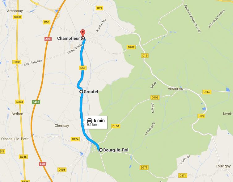 groutel - Groutel ( Champfleur) Sarthe Groute10