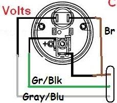 volt gauge Vdo_vo10