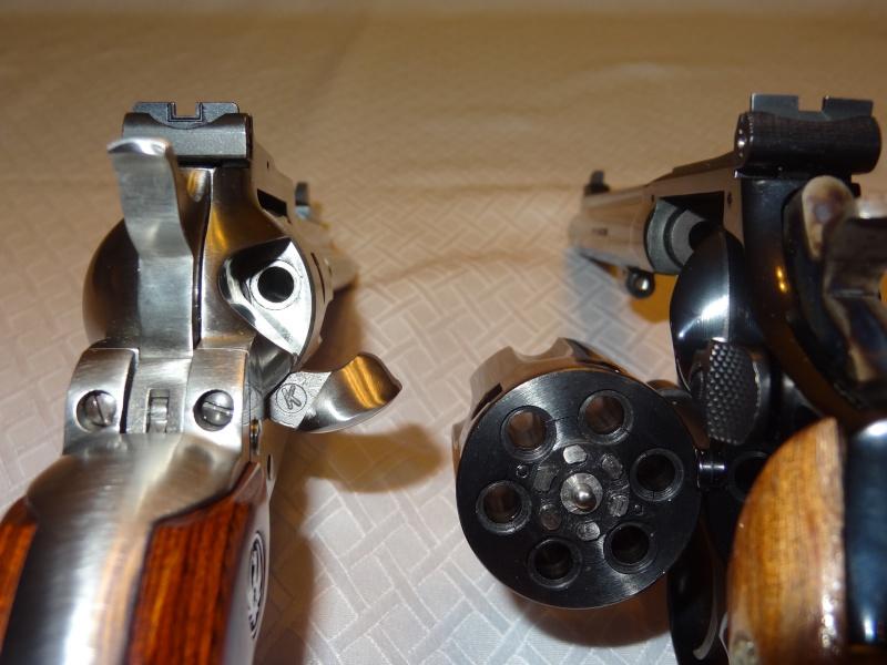 """Side by Side: S&W """"Model 17"""" vs Ruger """"New Model Single Six"""" 22lr_115"""