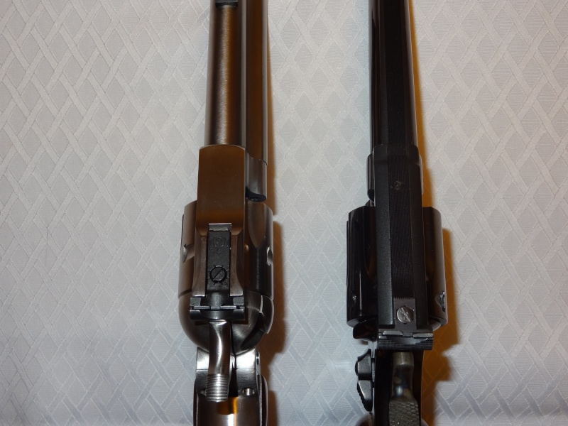 """Side by Side: S&W """"Model 17"""" vs Ruger """"New Model Single Six"""" 22lr_119"""